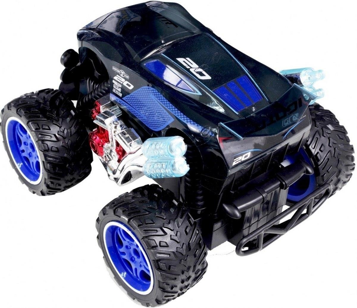 AUTO NA RADIO MONSTER TRUCK AUTA CARS AKU USB LEDY